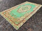 Large rug, Turkish rug, Vintage rug, Handmade rug, Wool, Carpet   4,9 x 8,8 ft