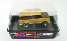1976 Aurora AFX Magnatraction 4-Gear FORD STREET VAN Slot Car 1943 Boxed BANDED