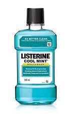 Listerine Cool Mint Mouthwash 500ml original FREE SHIP