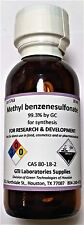 Methyl benzenesulfonate, 99.3%, for synthesis, 30ml