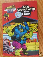 """BD  """"LES COMBATS DE HULK"""", AREDIT 1979, EN TRES BON ETAT"""