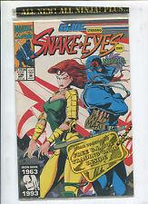 GI JOE #136  Snake Eyes and Nija  (9.2) 1993