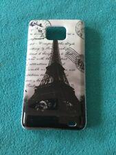 Hardcase für Samsung Galaxy S2 Eiffelturm Schwarz Weiß Neu & OVP