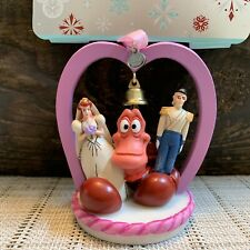 New ListingDisney Store Little Mermaid Wedding Sebastian & Ariel Sketchbook Ornament 2020