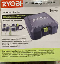 NEW Ryobi 5-Tool Carrying Case ES9000 Phone Works Weather Resistant Storage NIB