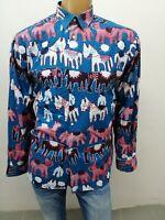 Camicia REPLAY Uomo taglia size XL shirt man chemise uomo maglia polo p 5492