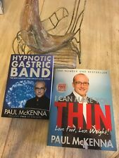 Paul Mckenna Hypnotic Gastric Band & I Can Make You Thin Books