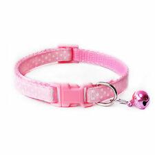 Pink Pet Collar Cute Cat Dog Neck Ring Adjustable Printing Neck Strap Pet Supply