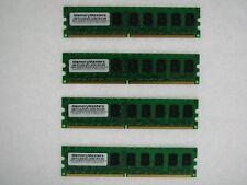 NEW! 8GB (4x2GB) Memory PC2-5300 ECC UNBUFFERED RAM Dell Poweredge 840