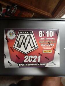 2020-21 PANINI MOSAIC EURO 2020 SOCCER NEW FACTORY SEALED Blaster BOX 10PACKS