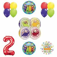 Teletubbies 2nd birthday ORBZ Balloon Birthday Party supplies and Decorations