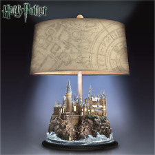 Harry Potter 00004000  Table Lamp With Illuminated Hogwarts Castle by Bradford Exchange