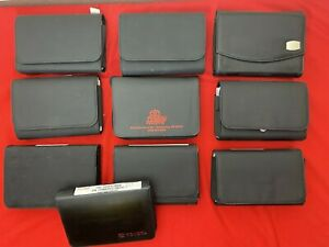 Lot of 10 TOYOTA Owners Manual Sets