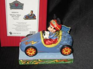 """""""Mickey Takes the Lead"""" Figurine Enesco Disney Showcase Collection Mickey Mouse"""