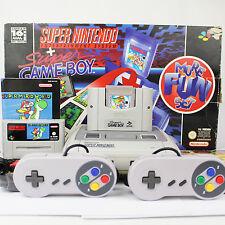 SUPER NINTENDO SNES : Super Mario World - Land 2 ♦ CONTROLLER, KONSOLE, OVP S142
