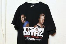 VINTAGE MIKE TYSON VS BOTHA  BOXING T-SHIRT 1999 XL MGM