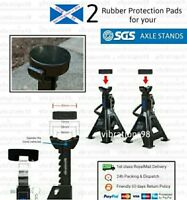 2x Rubber Protection Pads for your 2 Ton SGS Axle Stands (4 Ton for the pair)