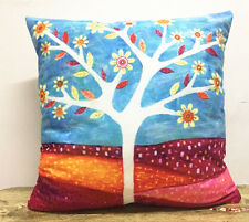 Christmas Day! Simple painting Flower tree Home Decor sofa Cushion Covers Pillow
