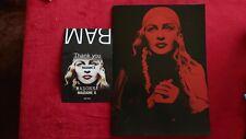 Madonna Madame X Tour Program Book BAM Flyer Post Card 2019 Concert Music