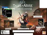 Tales of Arise Collector's Edition PS5 Playstation 5 + Shionne Alphen Statue USA