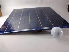 "Sunwize 1152 10 Watt Solar Module 12 volt .6 Amp 12"" x 12.5"" 6 Foot R/B Wire New"