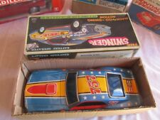 VINTAGE RARE BLUE MUSTANG SWINGER by T.P.S., FULL COMPLETE, NMIB OLD STOCK, BOX