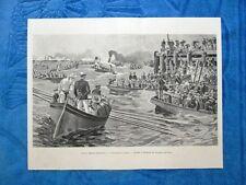 Illustrazione Italiana 1898 - Invasione di Cuba+Generali e Capitani Spagna 1898