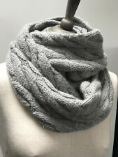 Baby Alpaca Large Cable Knit Snood BNWT