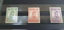 Belgique 1914 n° 126/128 neuf * MH série complète cote 85 euros lot 19