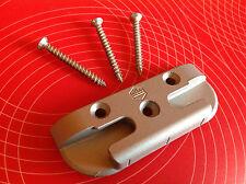 MACO 360254 Sicherheits-Schließblech Pilzkopf inkl. 3 Schrauben Schließstück