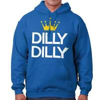 Dilly Dilly Crown Budweiser Funny Cool Gift Sarcastic Cute Hooded Sweatshirt