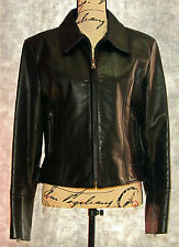GUESS LEATHER JACKET SIZE L