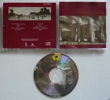 U2 THE UNFORGETTABLE FIRE CD Album Australian NO BARCODE