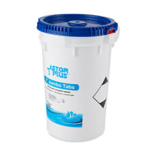 Star Plus Wrapped Trichlor Jumbo 3-Inch Pool Chlorine Tablets, 50 Pound Bucket