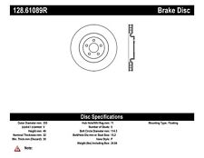 Disc Brake Rotor-Shelby GT500 Front Right Stoptech fits 11-14 Ford Mustang