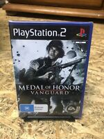 Medal of Honor: Vanguard (PS2) PlayStation 2 PAL Brand New FACTORY SEALED 🇦🇺
