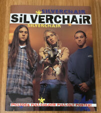 SILVERCHAIR BOOK INCLUDES PULL OUT POSTER NEVER USED