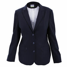 Wool Blend Jacket Plus Size Suits & Tailoring for Women