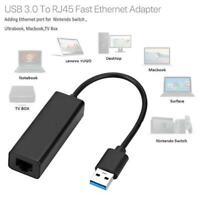 1 x USB 3.0 LAN Adapter Internet Ethernet Lan Network For Nintendo Switch