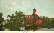 New York, NY, Arcade, Knitting Mill 1914 Postcard
