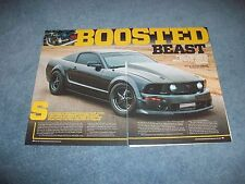 """2007 Mustang GT Custom Article """"Boosted Beast"""""""