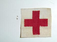 b3276 WW 2 American Red Cross ARC Nurse cap emblem woven A4B2