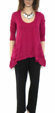 Metalicus Long Sleeve Hand-wash Only Solid Tops & Blouses for Women