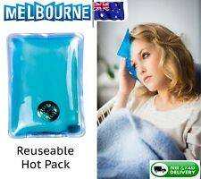 Reusable Instant Heat Hot Cold Pack Pad Back Heating Warmer Gel Eyes Face Click