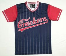 NLBM Atlanta Crackers Men's Baseball Jersey L sz 48 LARGE