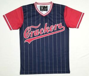 NLBM Atlanta Crackers Men's Baseball Jersey XXXXL sz 64 4X
