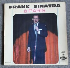 Frank Sinatra, the moon was yellow, EP - 45 tours