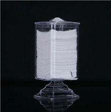 Acrylic Makeup Cotton Pad Nail Art Remover Paper Wipe Holder Container Storage