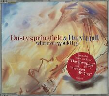"DUSTY SPRINGFIELD & DARYL HALL - 5"" CD - Wherever Would I Be + Daydreaming Mixes"