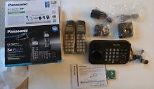 Panasonic 2 Handset Cordless Telephone KX-TG4742  DECT 6.0 PLUS